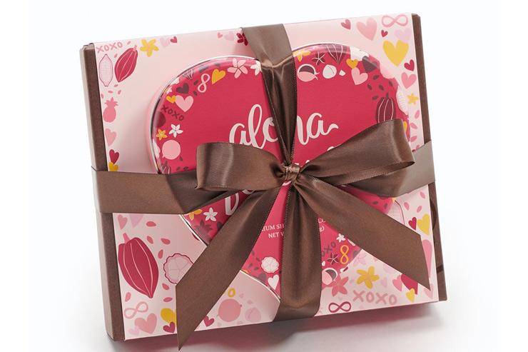 バレンタインギフトセット:$33 ※オンライン限定
