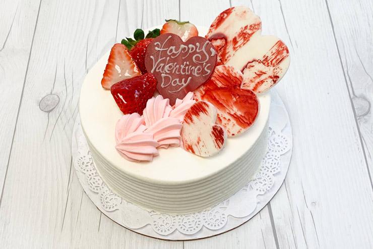 バレンタインスペシャルショートケーキ