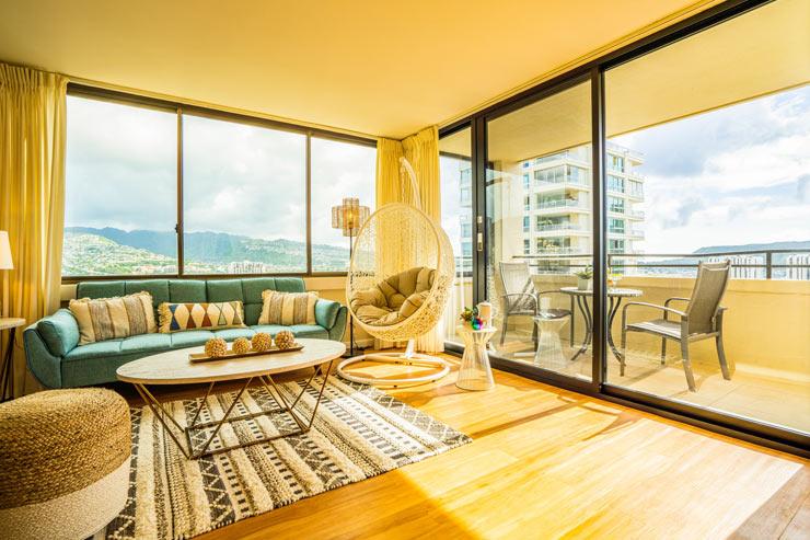 好立地&高層階の物件で快適なハワイ滞在を満喫