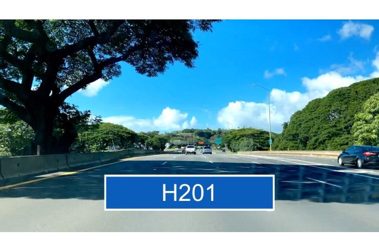 H1から道なりにH201