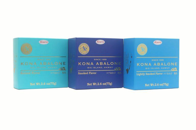 LeaLeaからハワイ産コナアワビの缶詰めの新発売!