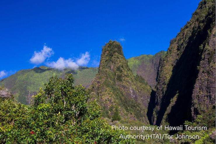 マウイ島指折りの景勝地 イアオ渓谷の過去