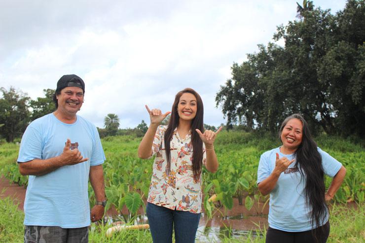 古代ハワイアンの自然農法を伝えたい…2人の熱い想い