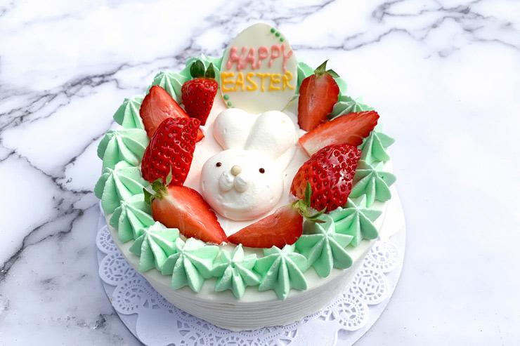 うさぎが主役!クルクルのイースター限定ケーキ