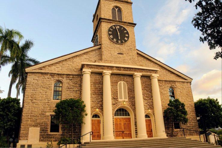 メレを旅するハワイ〜カワイアハオ教会へドライブ