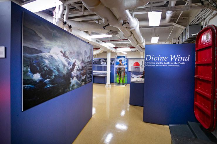 戦艦ミズーリでリニューアルしたKamikaze特別展を開催