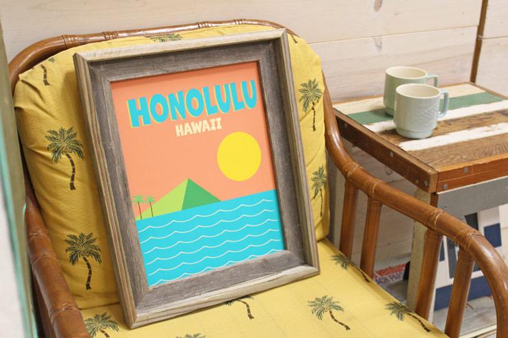 ハワイ感満点のギャラリーから配信!インスタライブ開催