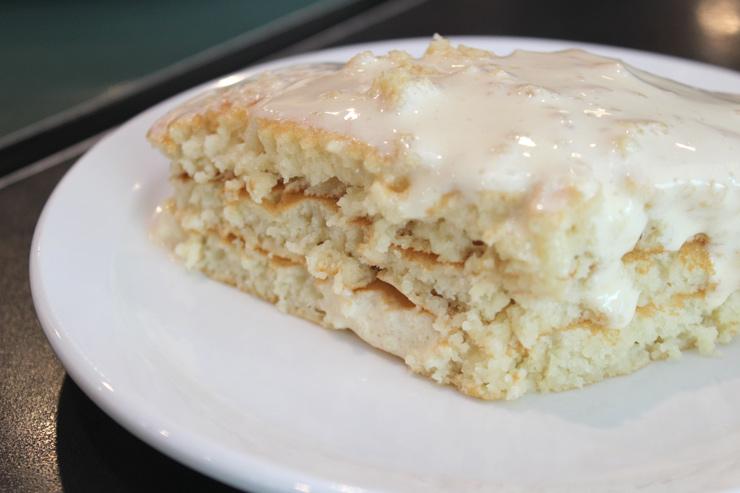 ブーツ&キモズのマカダミアナッツパンケーキ