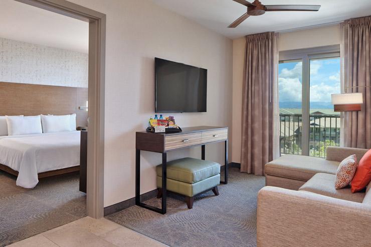 寝室と別にリビングがあるのが特徴