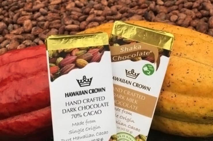 ハワイのハワイアンクラウンプランテーション チョコレートバー