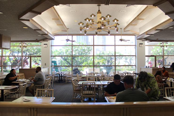 アラモアナホテルのカフェ410
