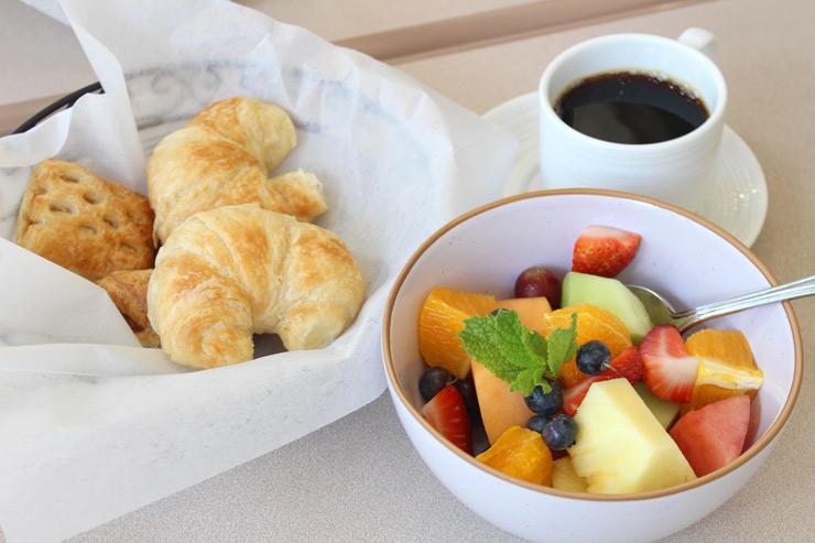 アラモアナホテルの朝食