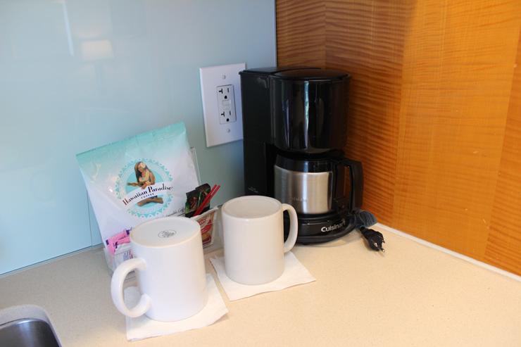 もちろんコーヒーメーカーも完備