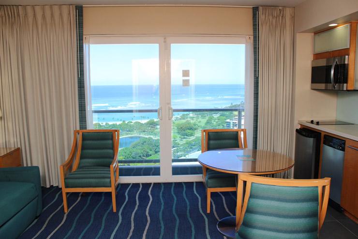 アラモアナホテルの客室