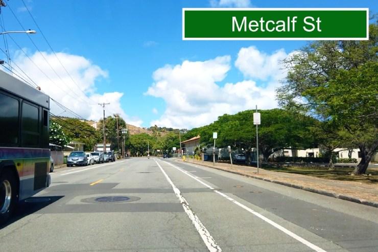 マッカリー・ストリートからメトカルフ・ストリートへ