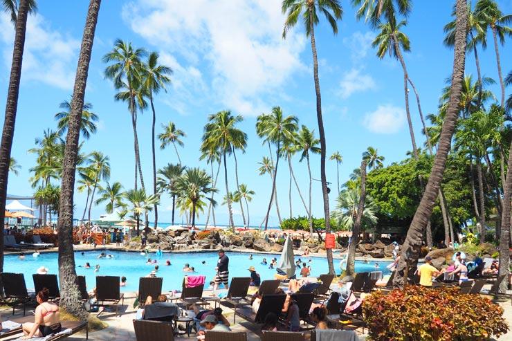 ハワイの魅力が凝縮!ヒルトン・ハワイアン・ビレッジへ