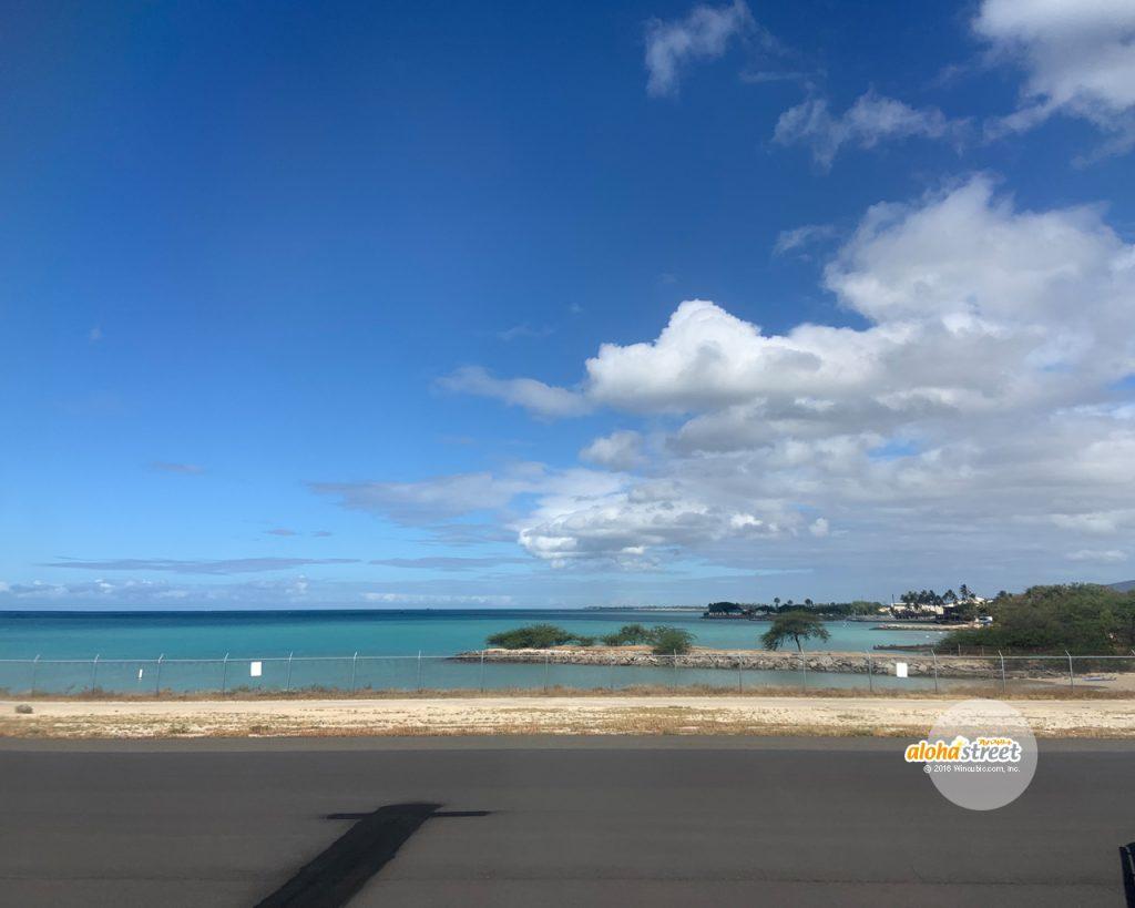 いつも元気をくれるハワイの青空と海
