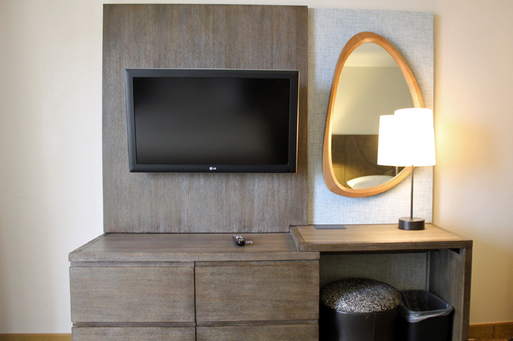 各ベッドルームにテレビも完備