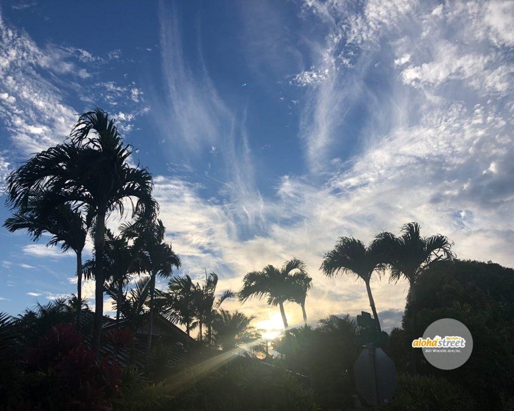 ハワイの空を見上げると元気をもらえる