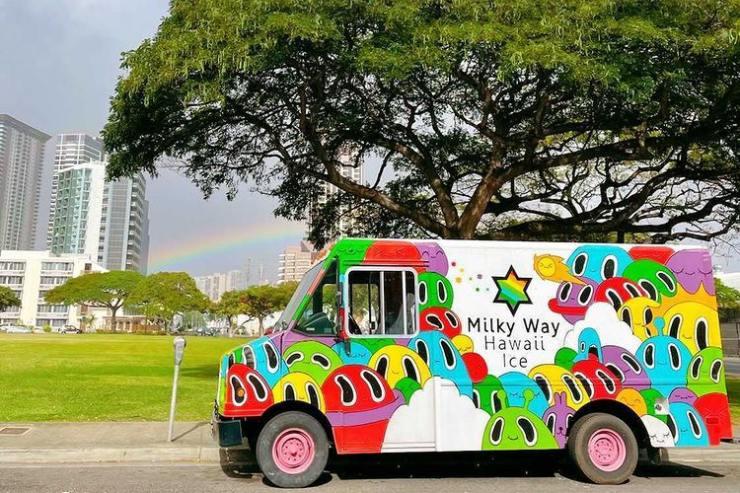 ハワイのミルキーウェイ・ハワイ トラック