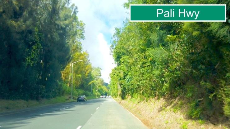 H1フリーウェイからパリ・ハイウェイへ合流