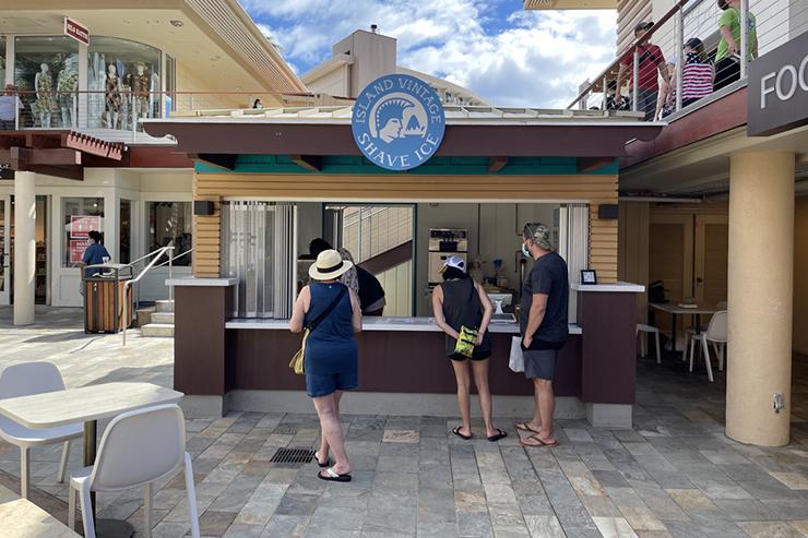 マウイ島にあのシェイブアイス店がニューオープン